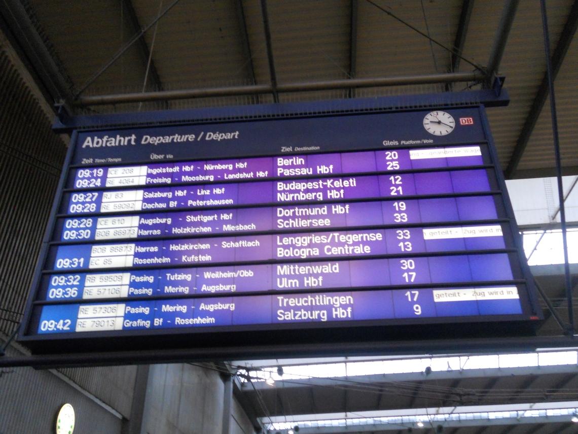 Munich Train Station
