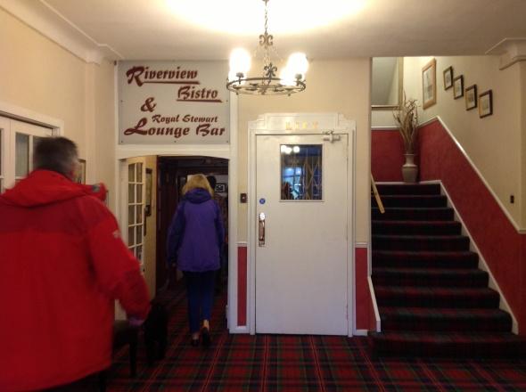 Killin Hotel reception