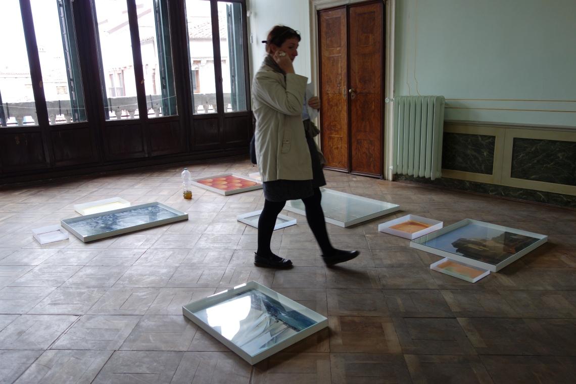 Hayley Tompkins' exhibition