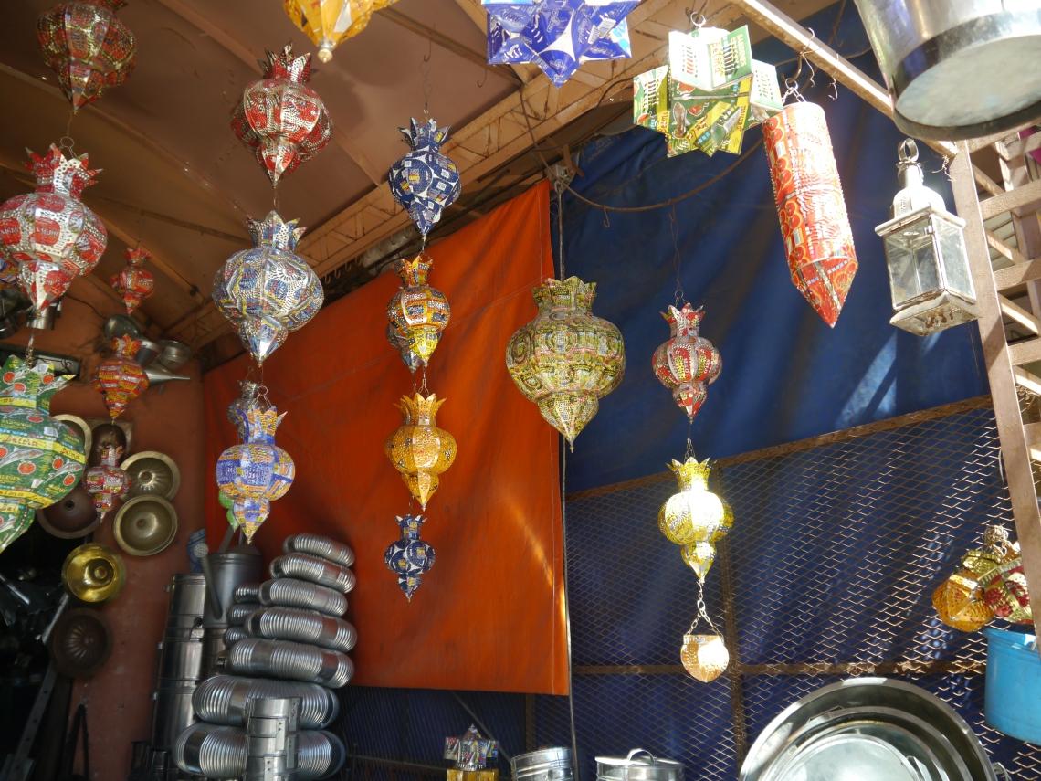 Marrakech lamps