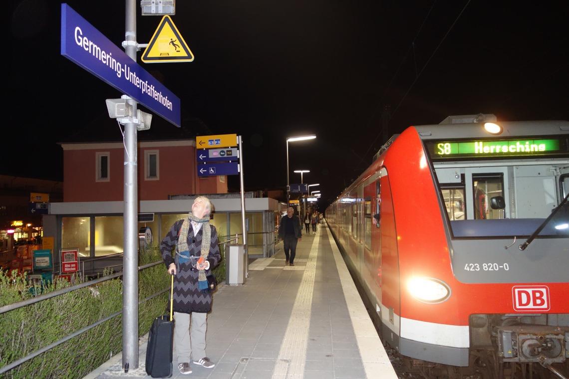 Unterpfaffenhofen-Germering Station