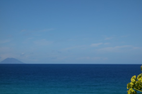 View of Stromboli from Tropea