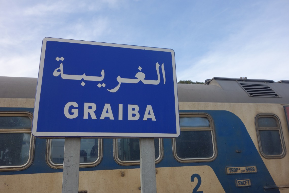 Graiba, the end of the train journey