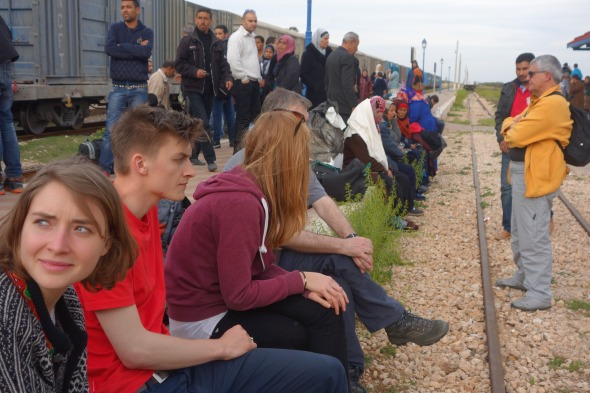 Graiba Train journey