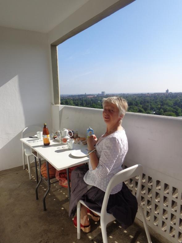 Corbusier Type Berlin balcony