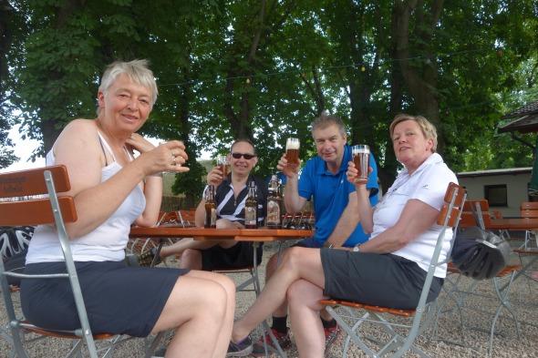 Beergarden in Wuerzburg