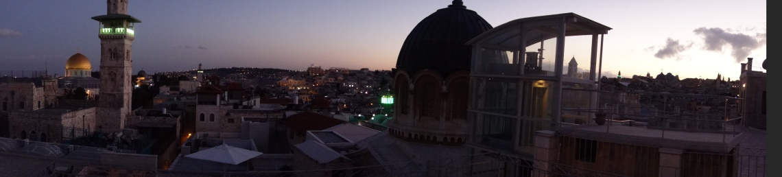 View from Ecce Homo convent terrace