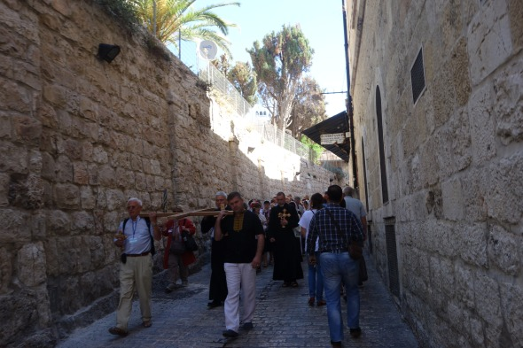 On the Via Dolorosa