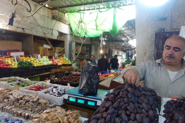 Date trader in Nablus