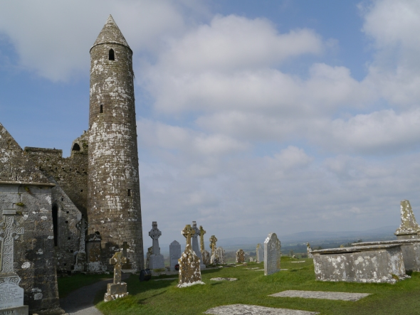 on Cashel Rock