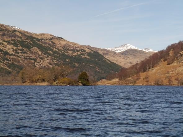 Ben Vane, seen from the east side of Loch Lomond