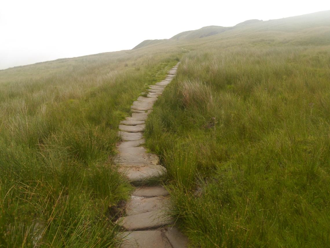 Flagstone paths