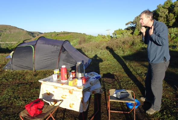 Breakfast in the Simien