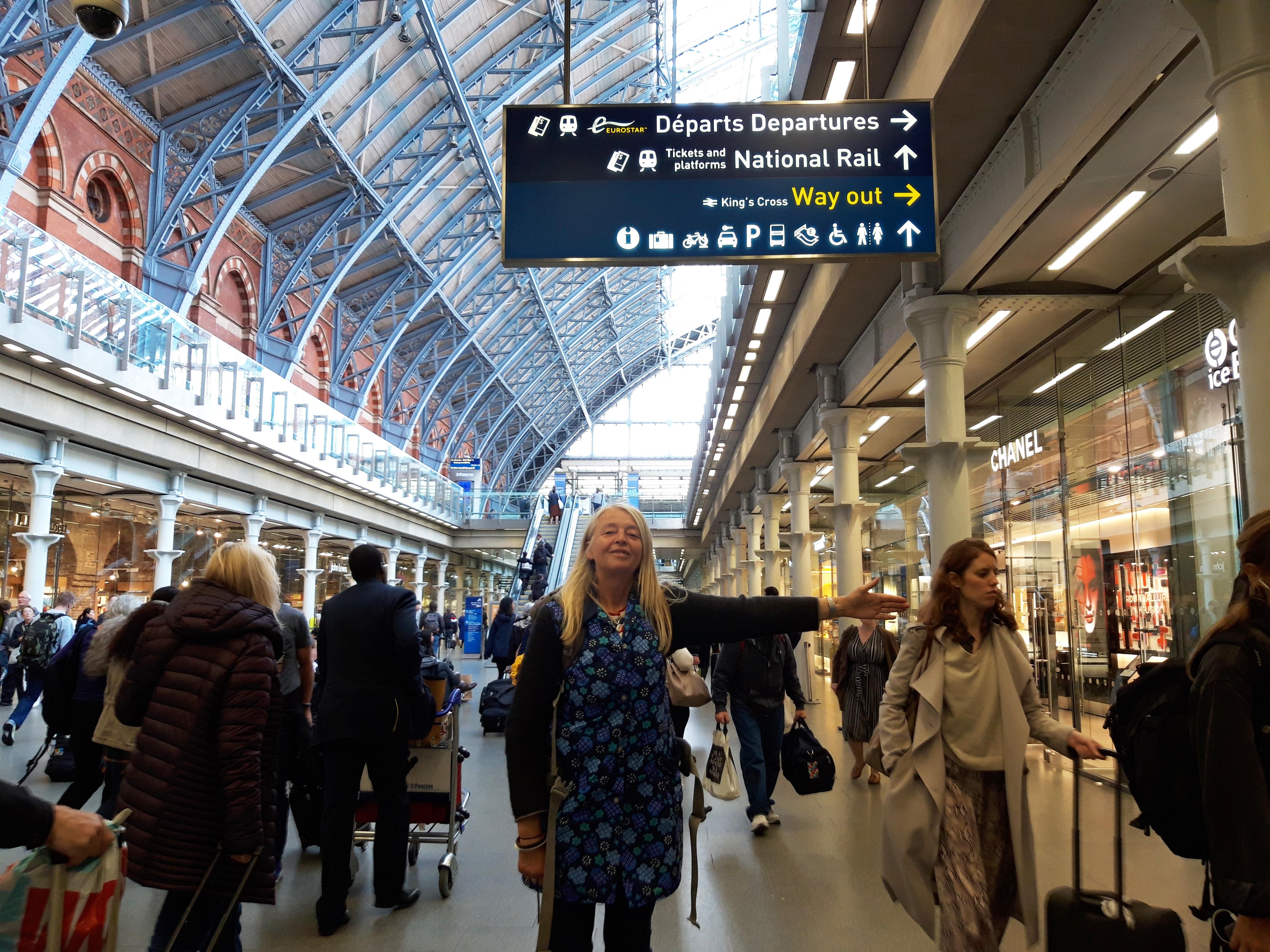 CZeiske leaving UK on Eurostar